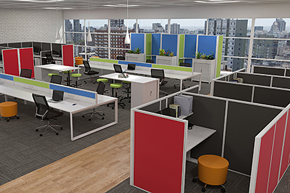 activity based working fitout