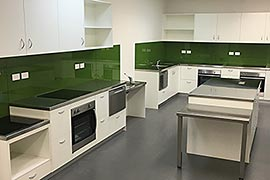 Disability access office kitchen