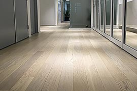 Office timber flooring
