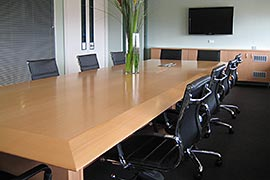 Office boardroom fitout