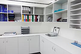 Office facilities room fitout