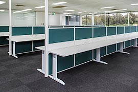 Workstation partitions